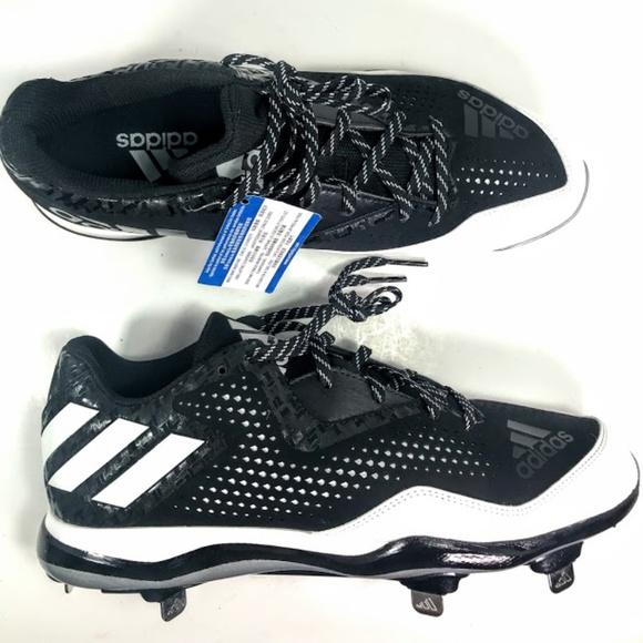 size 40 e20ec afc9d Mens Adidas PowerAlley 4 Baseball Cleat Sz 12